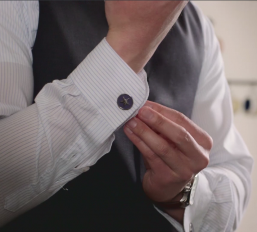 Introducing Anycuff, Cufflinks for Any Person and Any Shirt